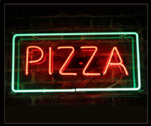 PIZZA Neon Sign 1